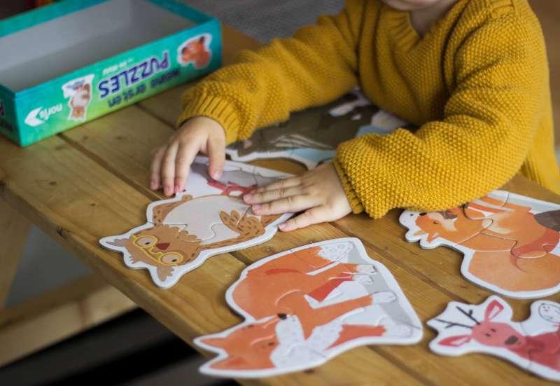 Noris/Baby- & Kleinkindspielzeug:MEINE ERSTEN WALDTIERE [PUZZLE